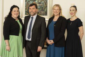 MBIP Trade Marks team (L-R): Kelllie, Michael, Geraldine and Catherine