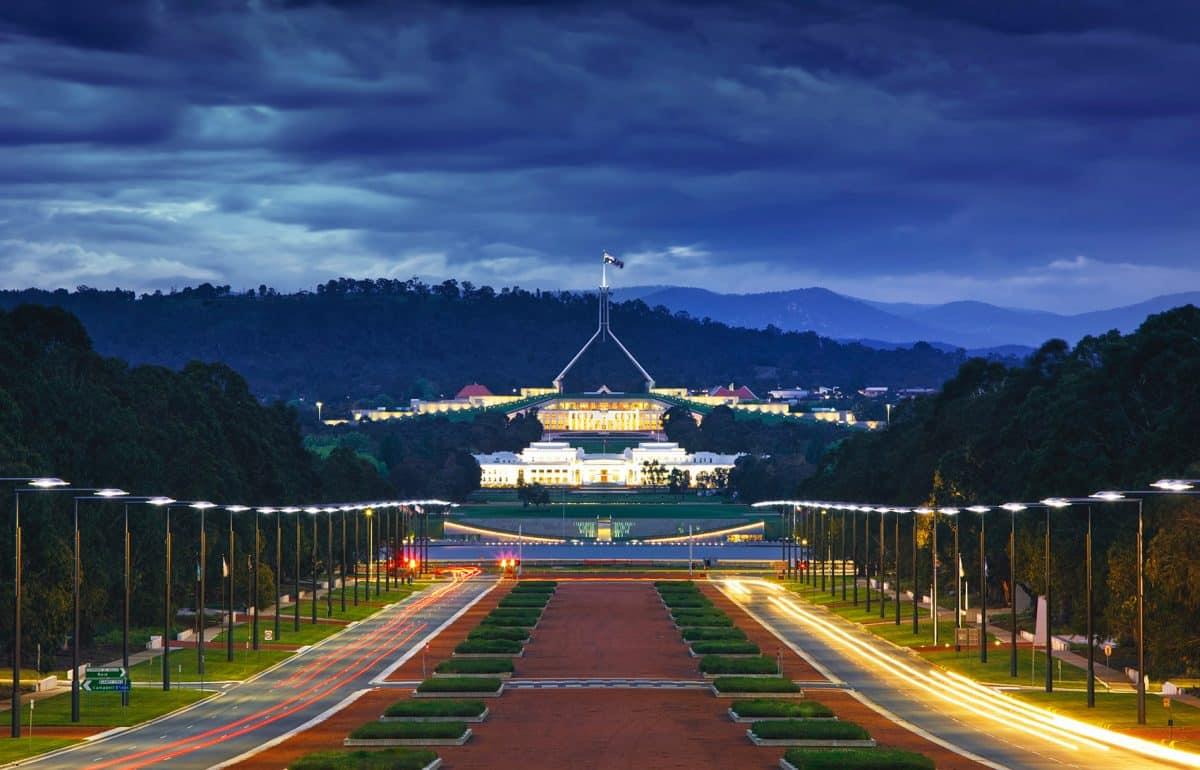 parliament house, canberra, australia